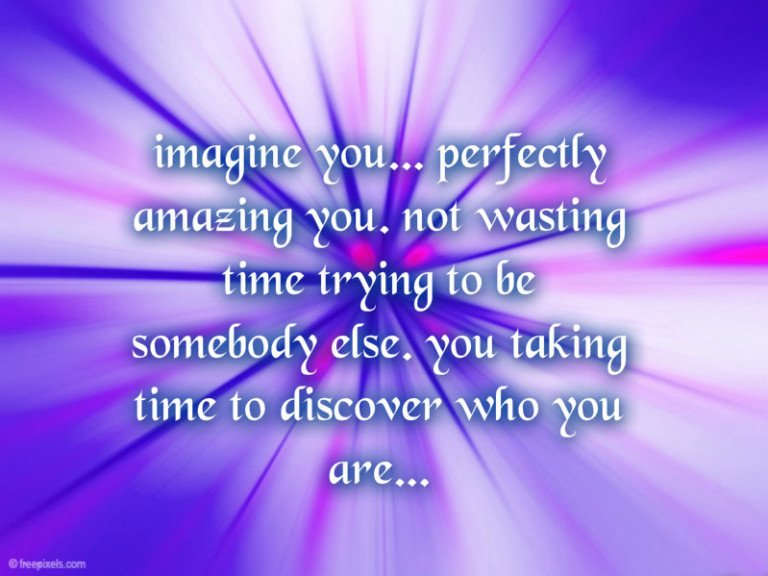 Imagine You Be You