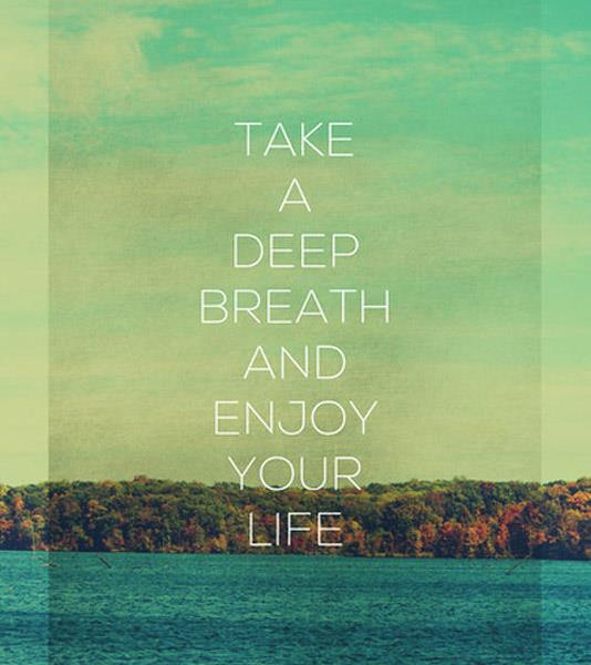 Just take a deep breath... ⋆ SHIFT>