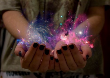 universe in the hands