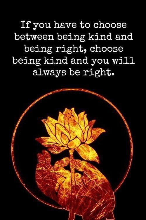 Be Kind, Be Right