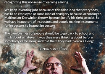 buckminster fuller earning a living