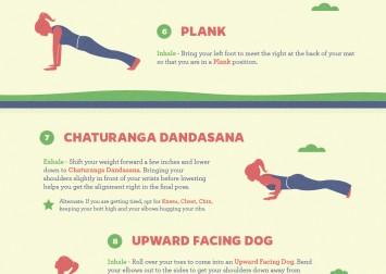 sun salutation yoga