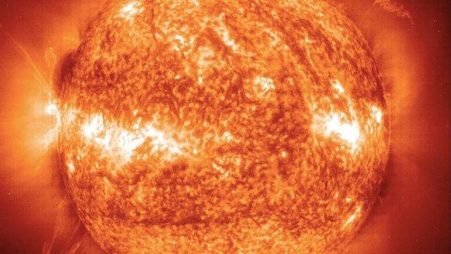 sol explosão solar