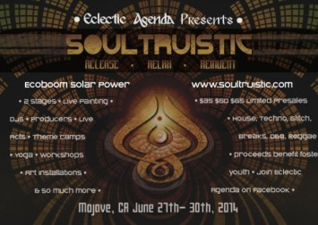Soultruistic Flyer 2014