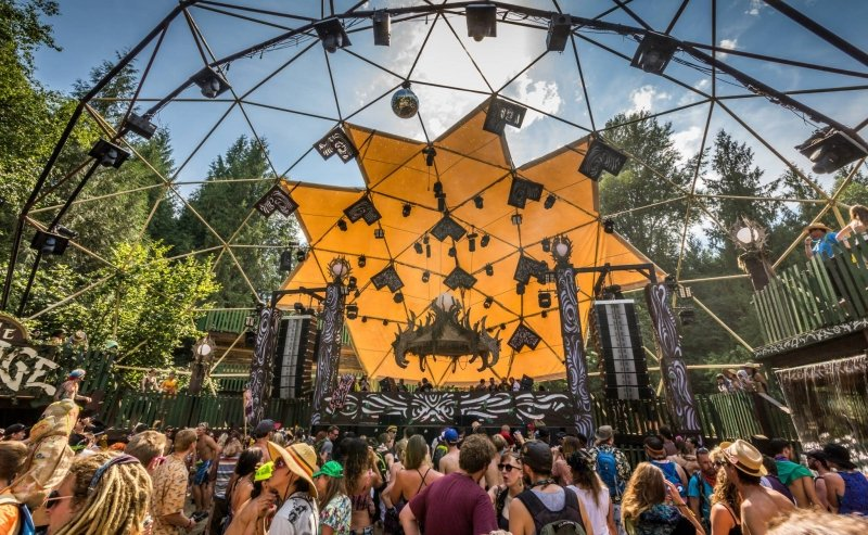 Shambhala Music Festival, 2014. Photo by Kevin Hendryx