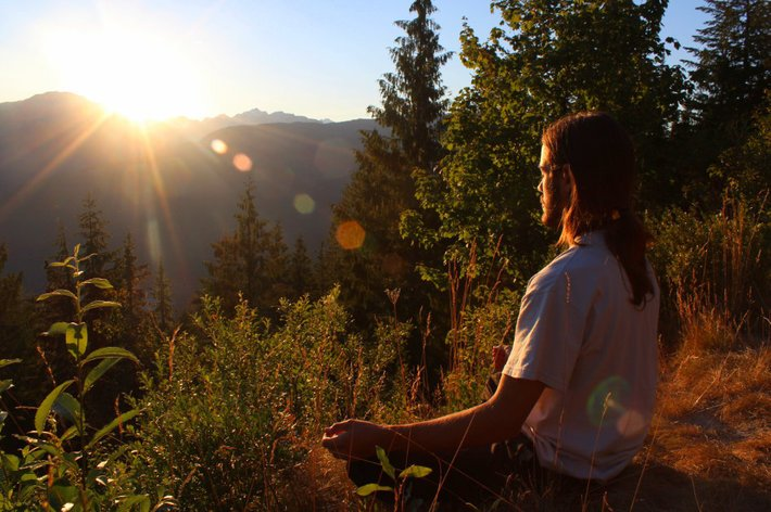 Meditate With Intention, Not Goals