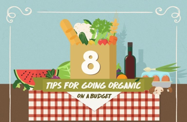 Infographic: 8 Tips For Going Organic On A Budget