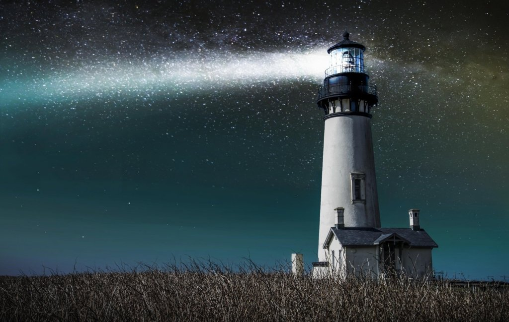 lighthouse in space