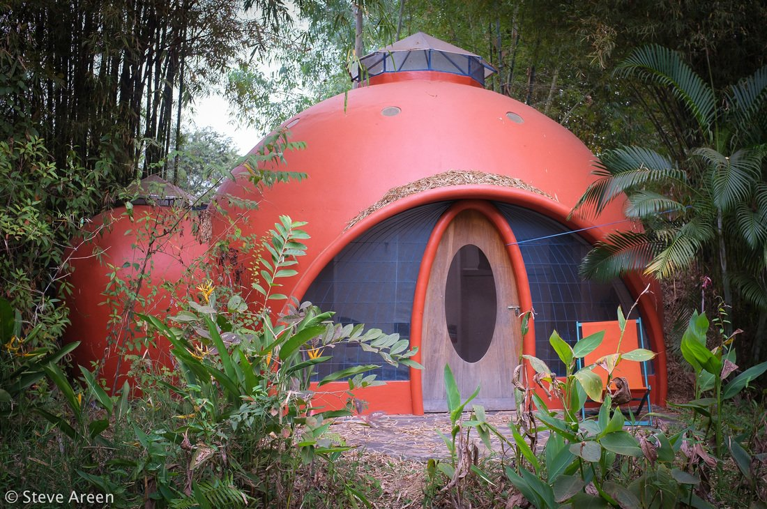 aircrete dome home