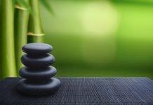 zen rock cairn