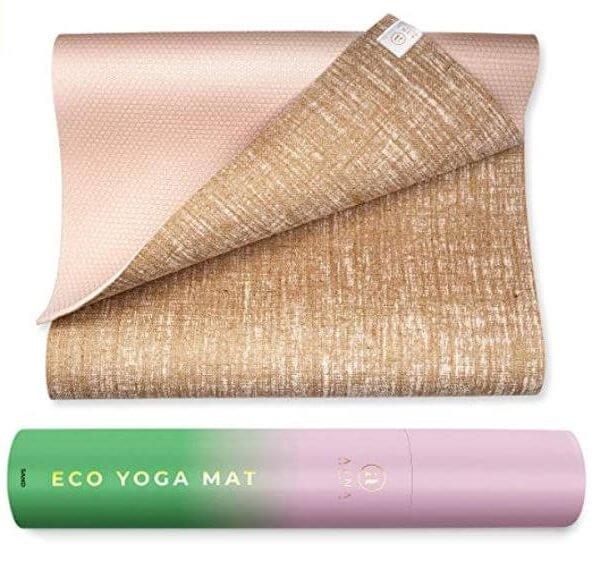 organic jute yoga mat