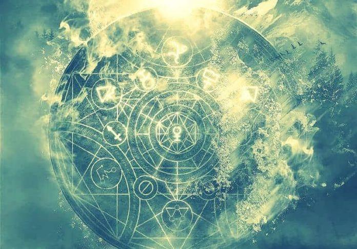 arte visionario geometría sagrada