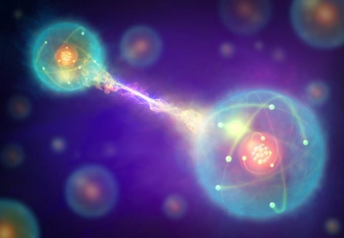 quantum entanglement art