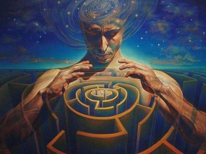 visionary art maze