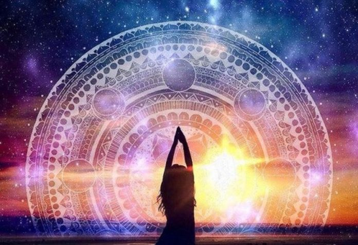 spiritual mandala woman
