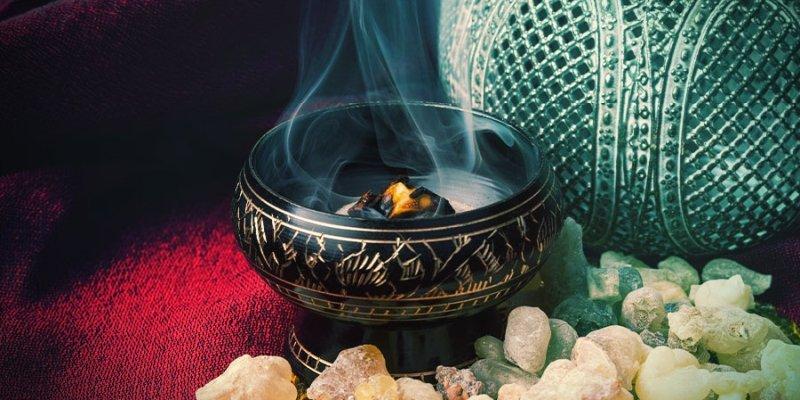 burn resin incense