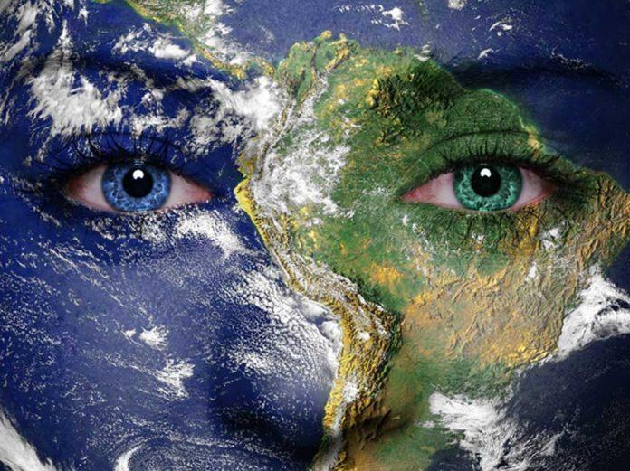 gaia earth face