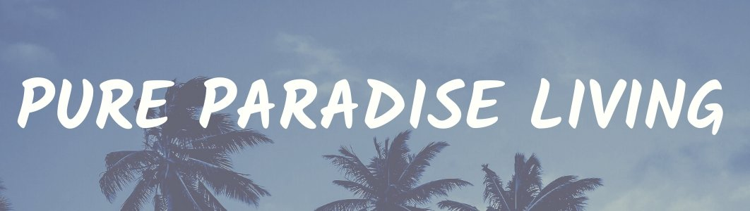 pure paradise living banner