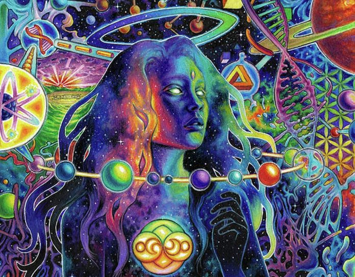 visionary art callie frank