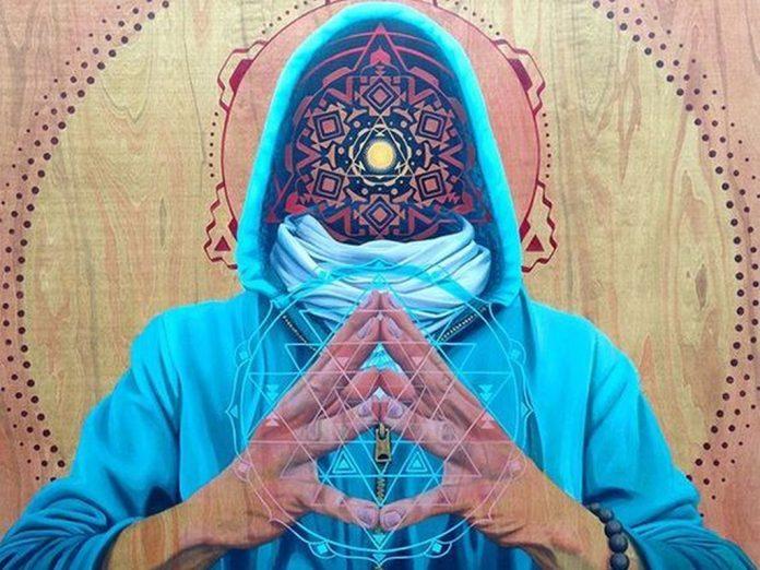 visionary art sri yantra