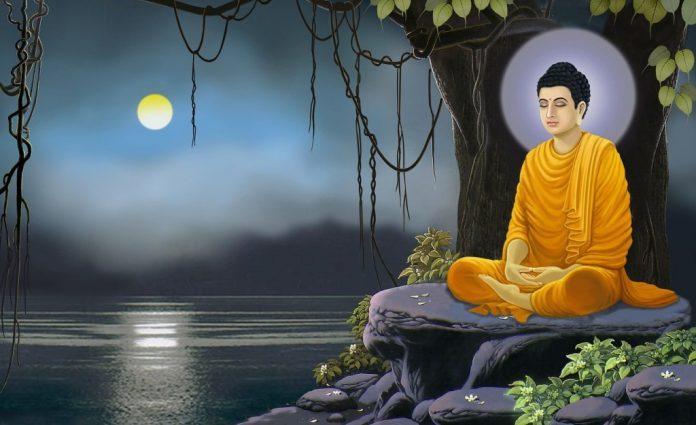 buddha eat meat